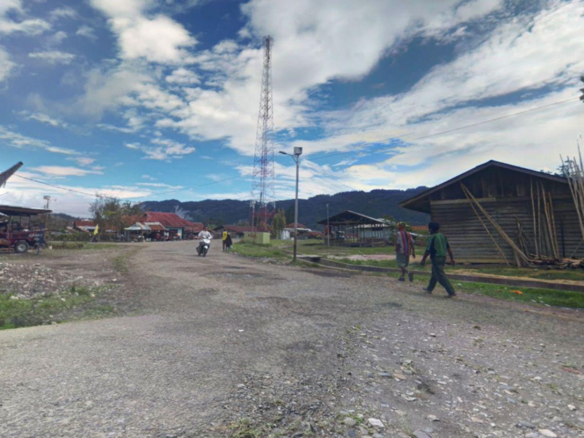 Oksibil in Papua, Indonesia. Photo: Google Maps