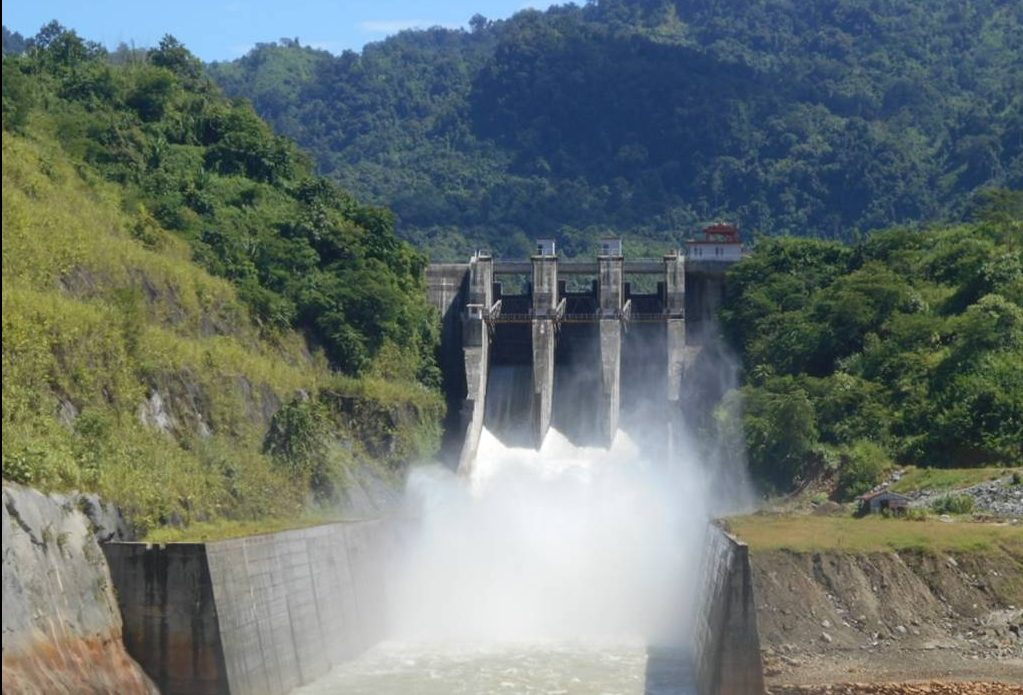 A  hydroelectricity producing dam in Northeast India. Photo: NEEPCO