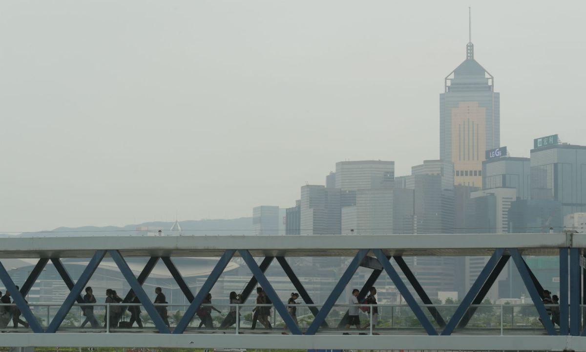 Smog in Hong Kong. Photo: HK Government