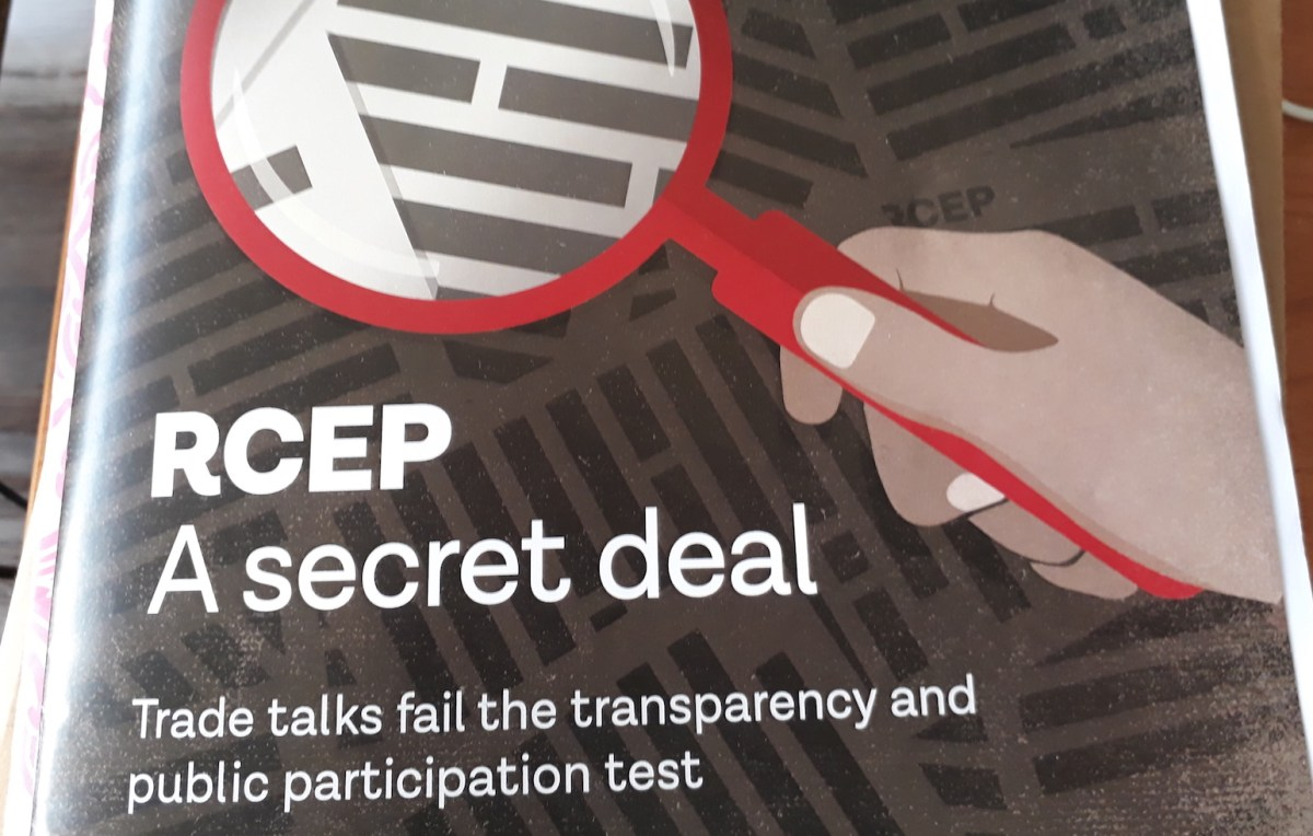 Groups across Asia say the RCEP trade deal needs deeper public consultation and leaked drafts show provisions that could have negative impacts on half the world's population. Photo: Asia Times