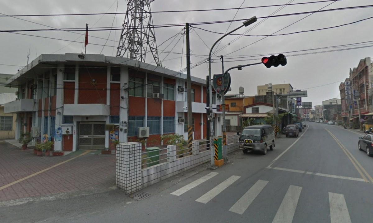 Yanpu Police Station in Ligang Precinct, Pinging, Taiwan. Photo: Google Maps