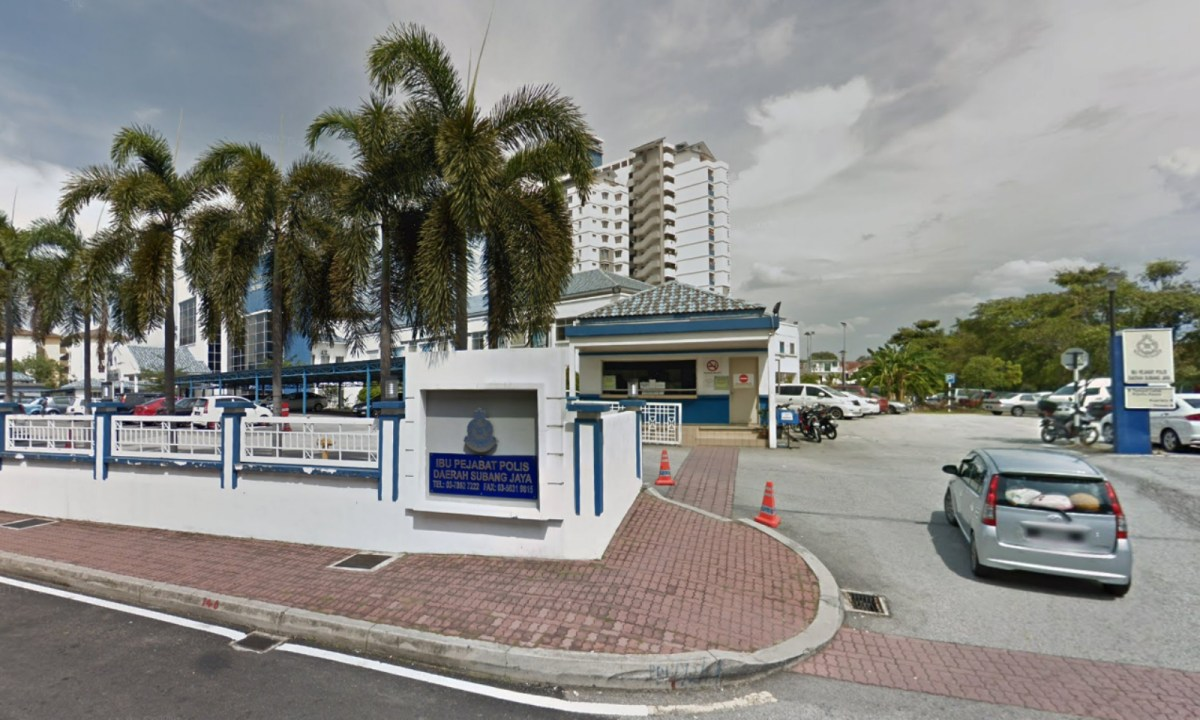 Subang Jaya District Police Station, Selangor, Malaysia. Photo: Google Maps