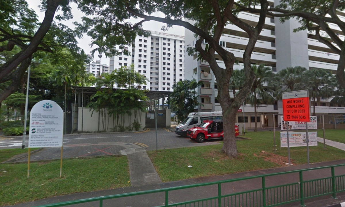 Marine Parade Fire Post on Marine Terrace, Singapore. Photo: Google Maps