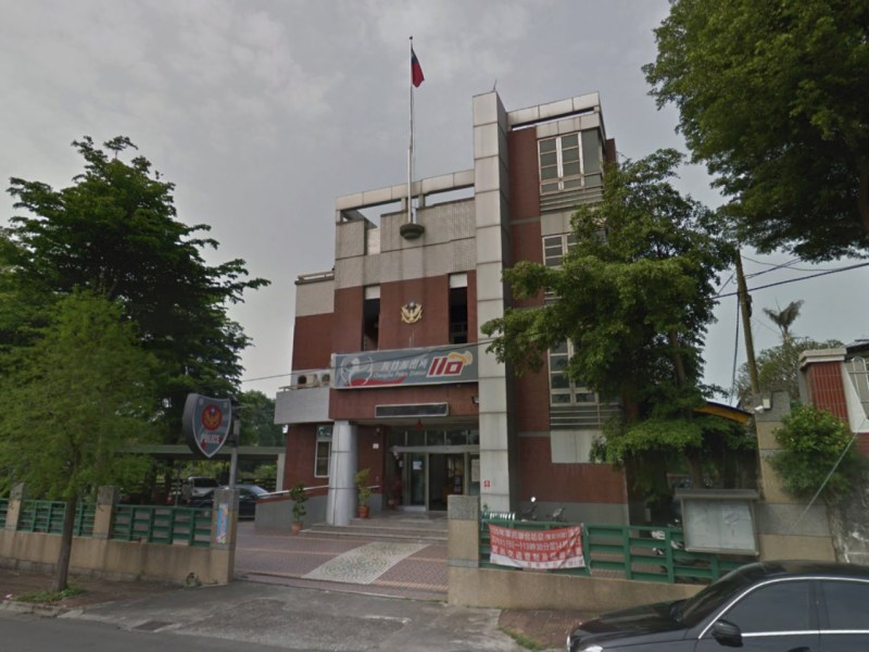 Changjhu Police Station in the Chiayi City Police Bureau in Taiwan. Photo: Google Maps
