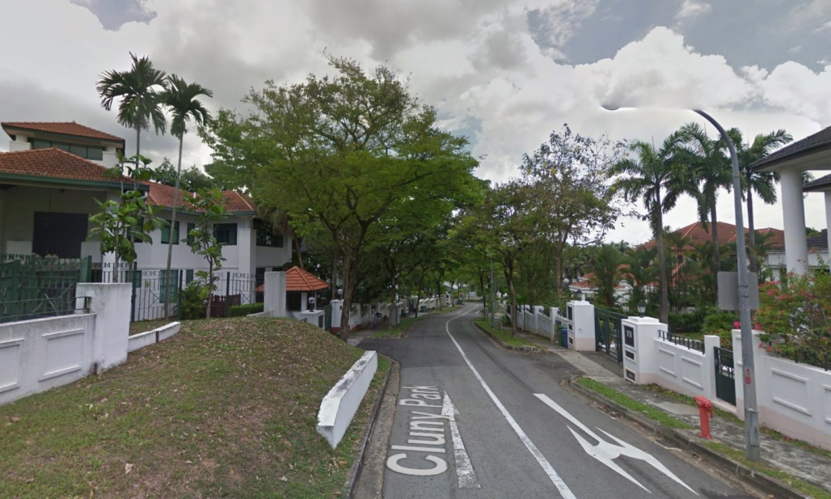 Cluny Park Residence, Singapore. Photo: Google Maps