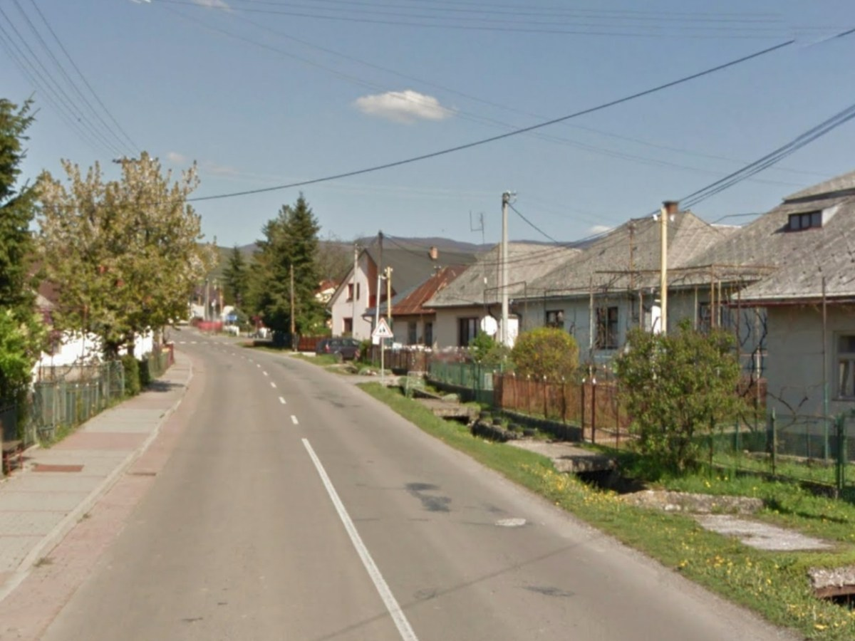 Sobrance district, Slovakia Photo: Google Maps