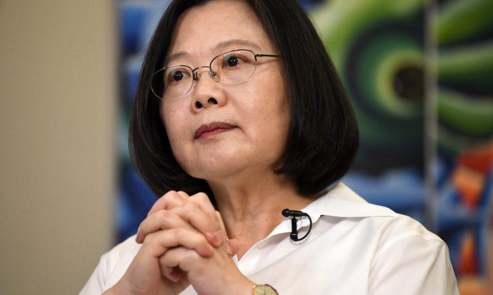 台灣總統蔡英文採取了更大膽的方法來解決被孤立的問題。相片:AFP / Sam Yeh