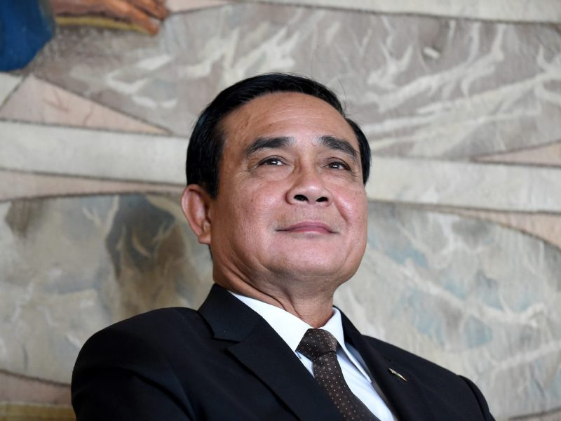 Thailand Prime Minister Prayut Chan-ocha in Paris on June 25, 2018. Photo: AFP/Eric Piermont