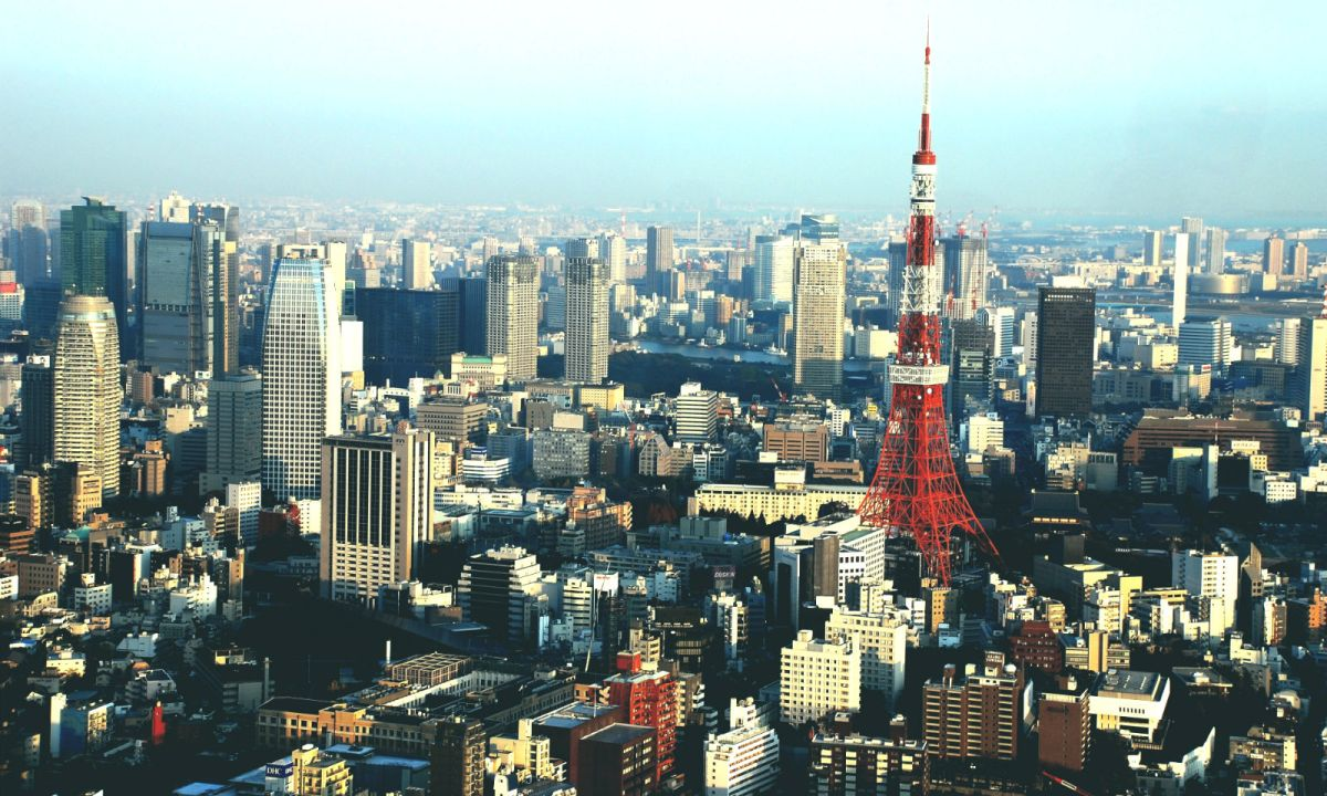Tokyo, Japan. Photo: Wikimedia Commons, Wilhelm Joys Andersen