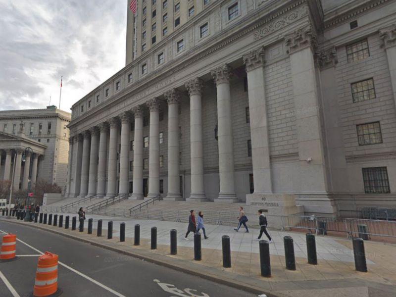 Manhattan Supreme Court in New York, United States. Photo: Google Maps