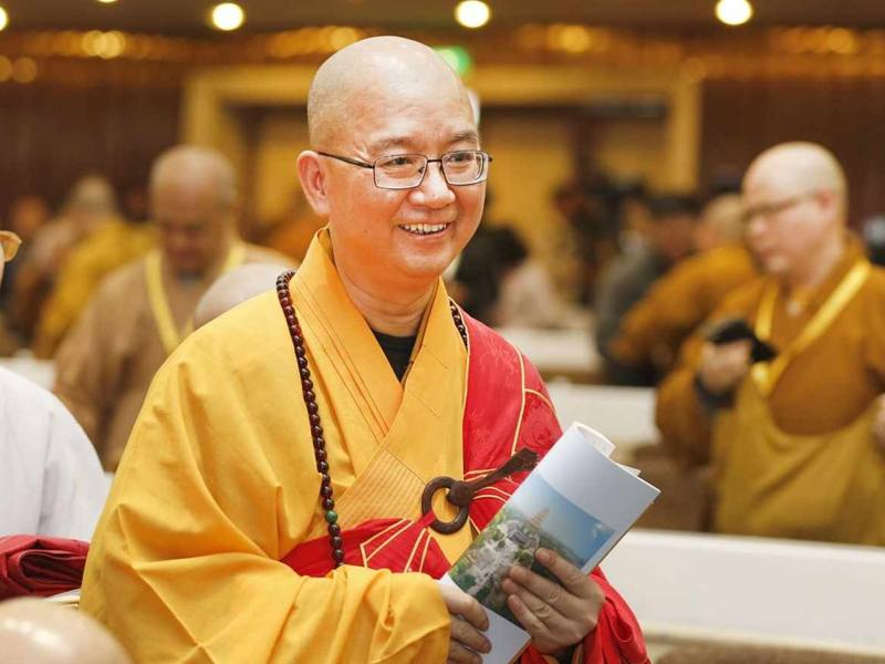 Shi Xuecheng, abbot of the Longquan Monastery in Beijing. Photo: Handout