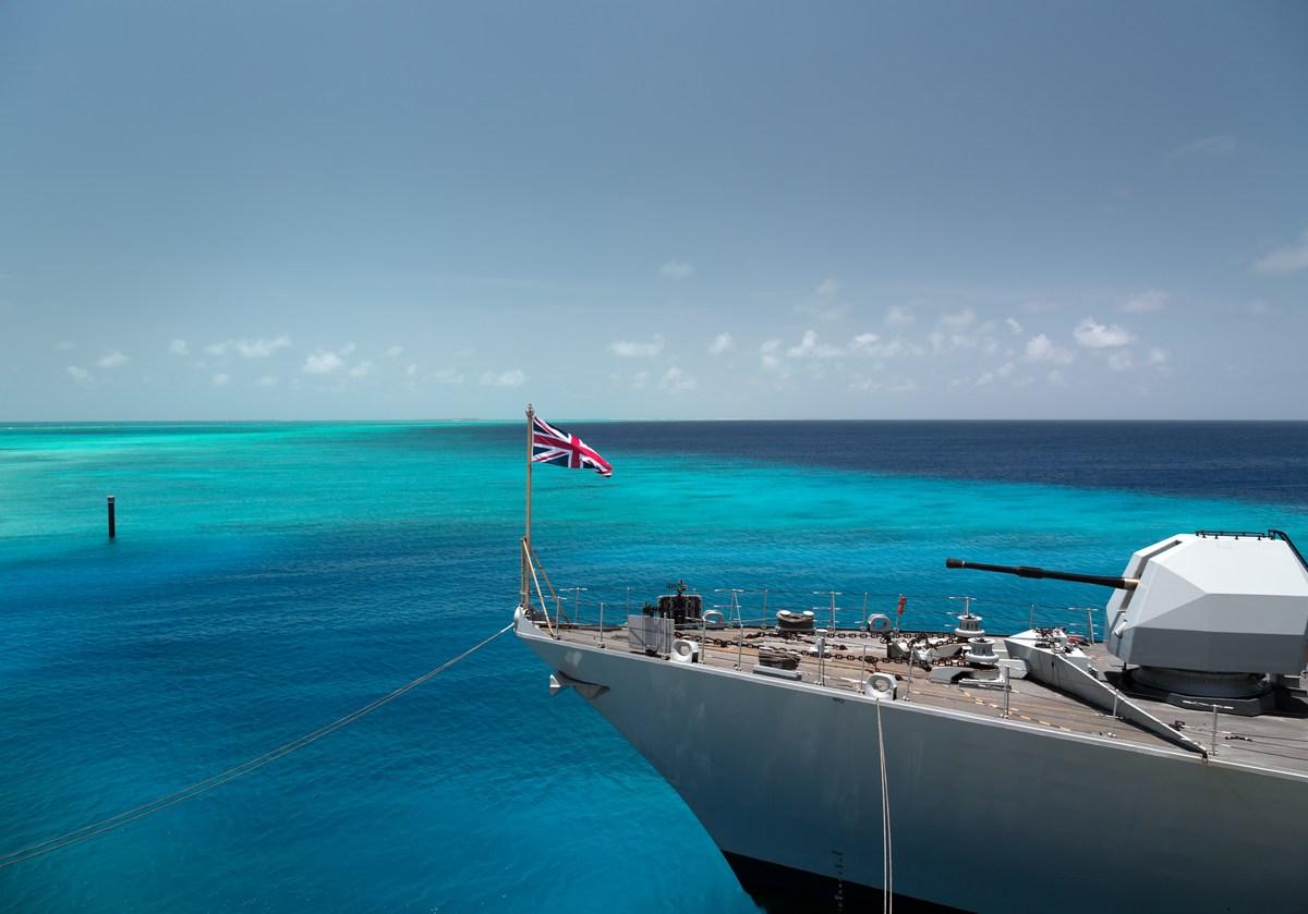 British military ship. Photo: iStock