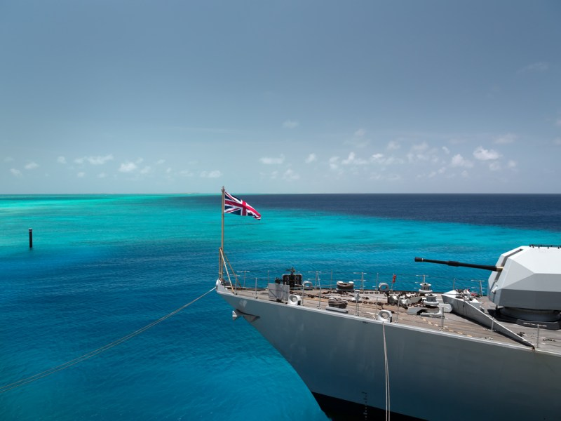 British military ship. Photo: iStock