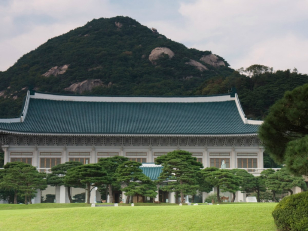 Cheong Wa-dae, official residence of the President of the Republic of Korea. Photo by iStock.