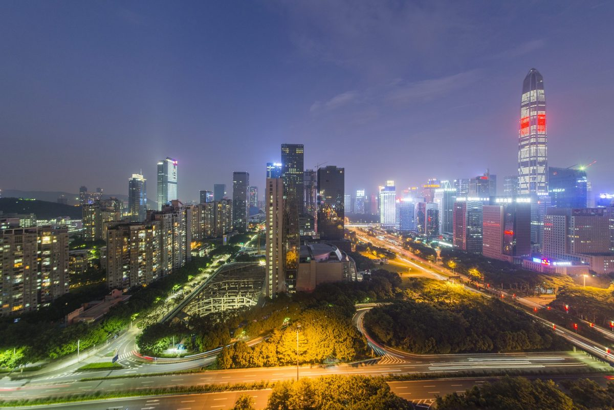 The blockchain-based 'open financial and trade ecosystem' for the Guangdong, Hong Kong, and Macau Bay Area will be run from Shenzhen. Photo: iStock