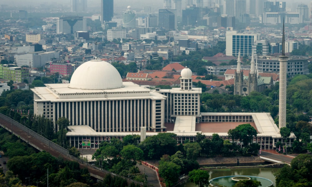 Istiqlal Mosque in Jakarta, the national Mosque of Indonesia. Photo: iStock.