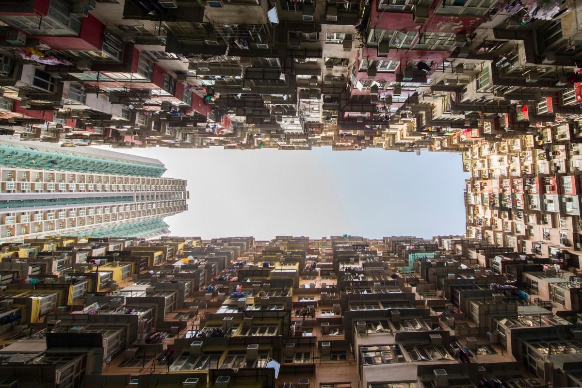 Apartment buildings in Hong Kong Photo: iStock