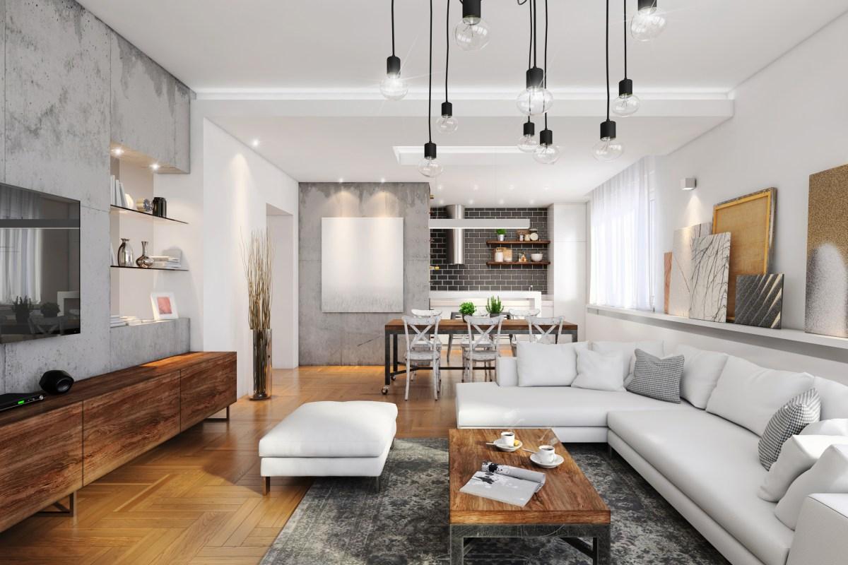Modern apartment interior. Photo: iStock