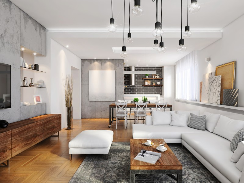 Modern apartment interior. Photo: iStock