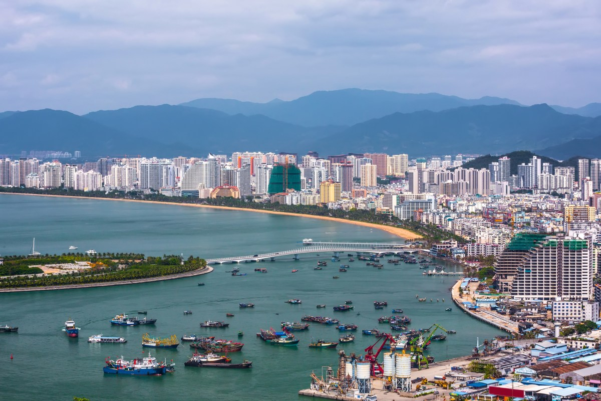 Sanya city in Hainan province, China. Photo: iStock