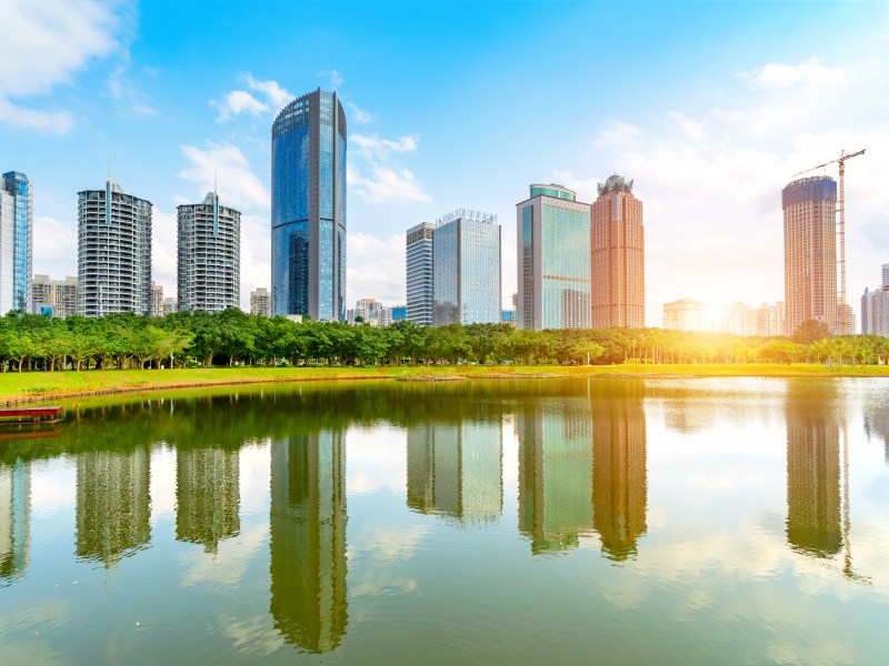 Haikou city in Hainan province, China. Photo: iStock