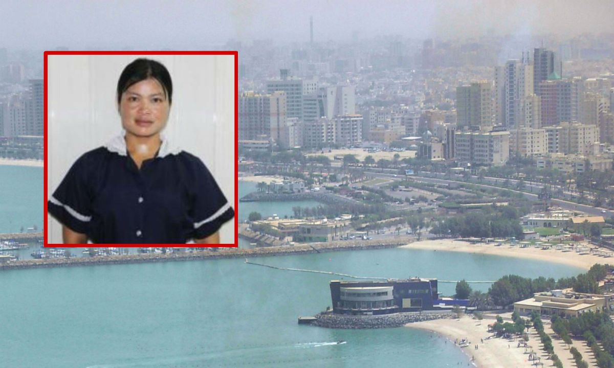 The Philippine Embassy in Kuwait said domestic worker Ronalyn Yonting Lawagan (inset) has been missing for 18 months. Photo: Wikimedia Commons/Facebook/Philippine Embassy in Kuwait