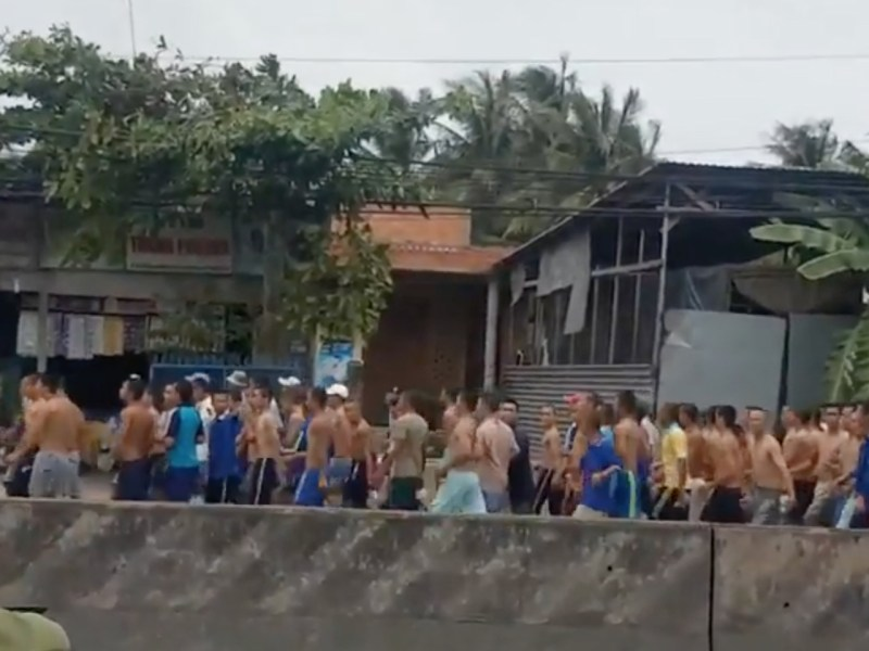 More than 200 inmates broke out from a rehab center in Vietnam. Photo: Subio Creative Studio