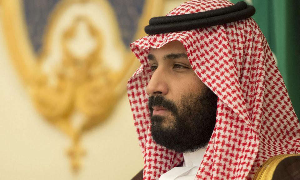 沙特王儲薩勒曼出席在吉達(Jeddah)舉行的會議。相片:AFP / Saudi Royal Palace / Bandar al-Jaloud