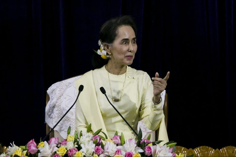 Myanmar's business community is frustrated at the inaction of State Counsellor and de facto leader Aung San Suu Kyi's government. Photo: AFP/Ye Aung Thu