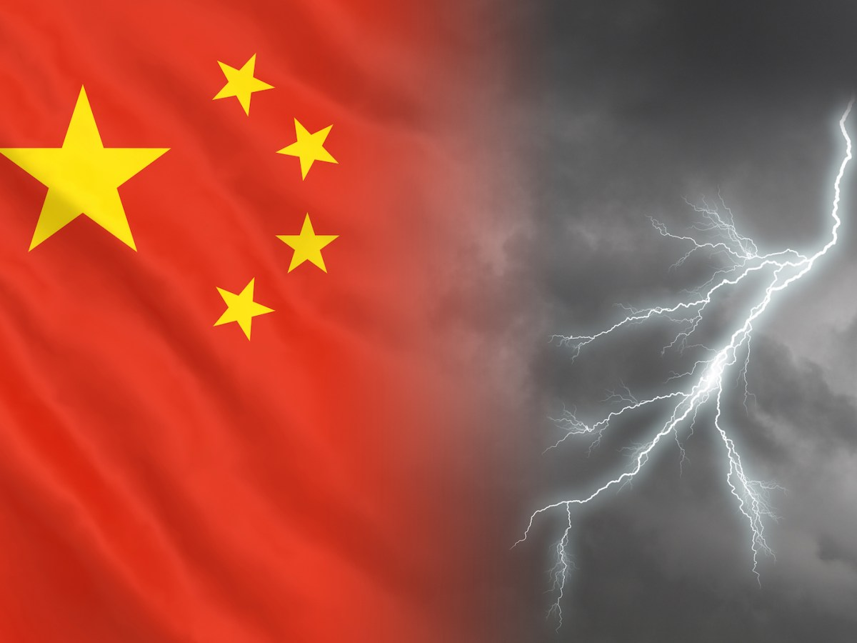 Storm clouds are gathering over the Chinese economy as the United States rolls out a new round of tariffs. Photo: iStock
