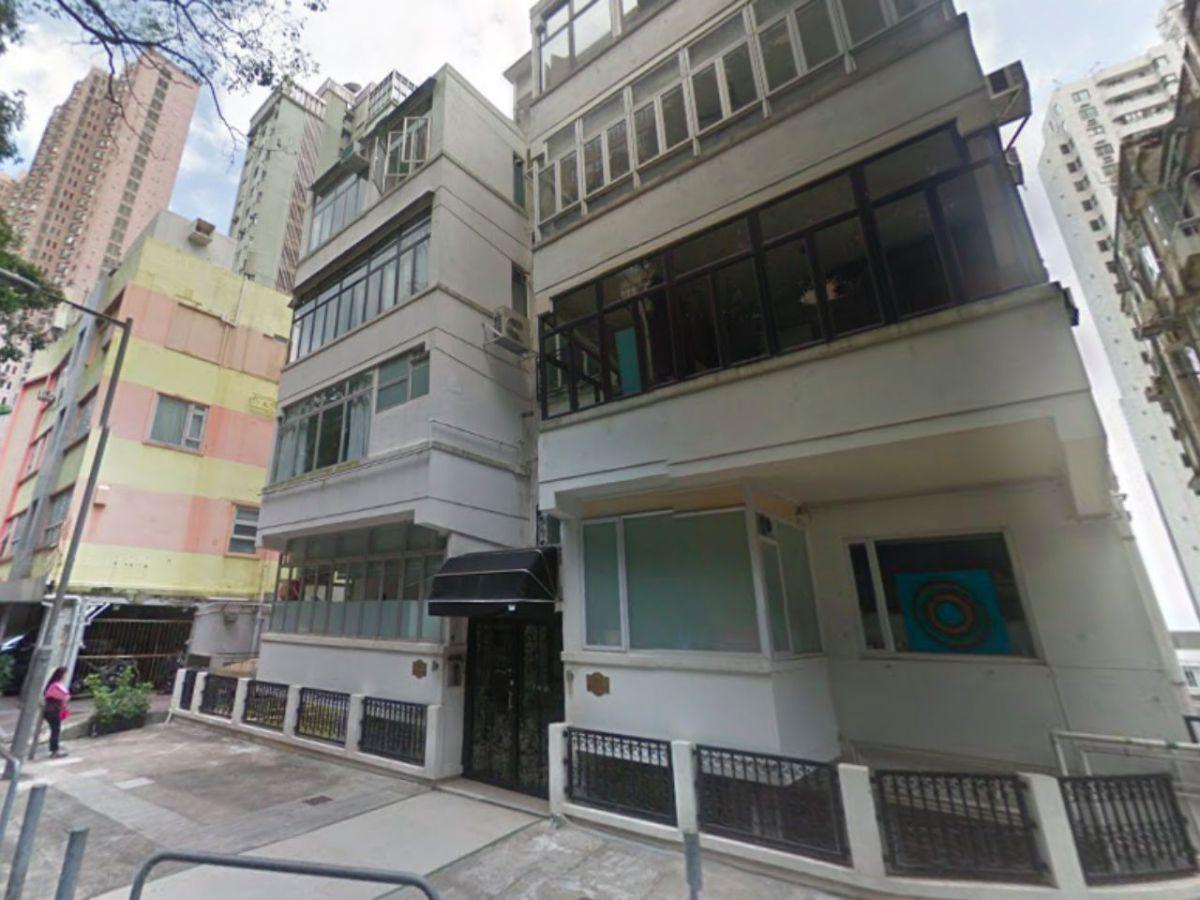 Mid-Levels, Hong Kong Island Photo: Google Maps