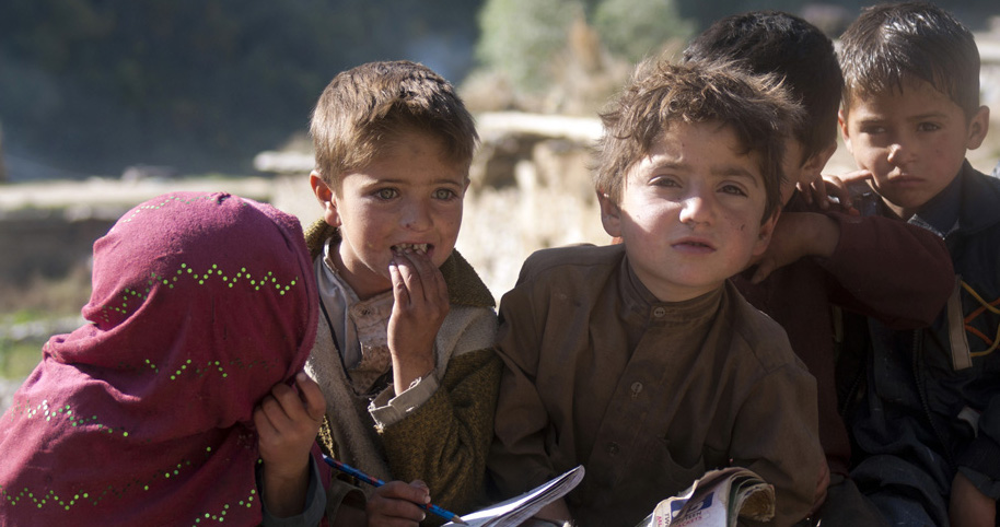 Many Kashmiri children, such as these kids from India's northern state, have been subjected to abuse after being sent to privately-run shelters. Photo: Wikimedia Commons