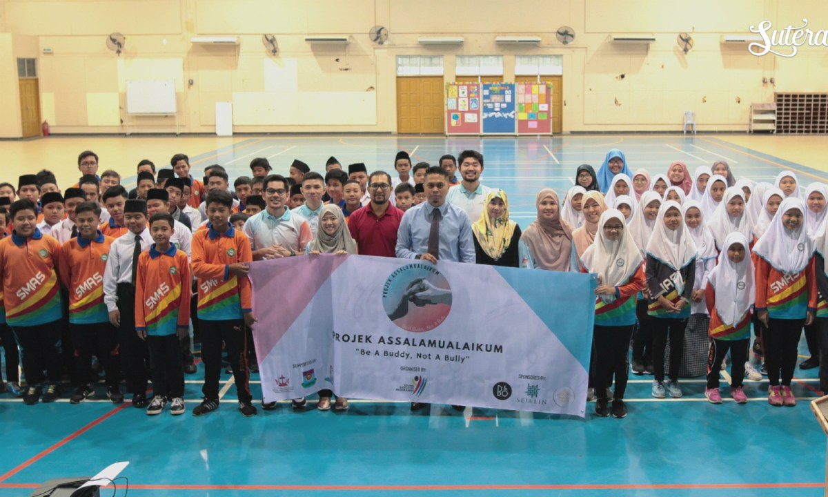 'Projek Asalaamualaikum' will raise awareness and combat school bullying in Brunei. Photo: Courtesy of Projek Assalamualaikum