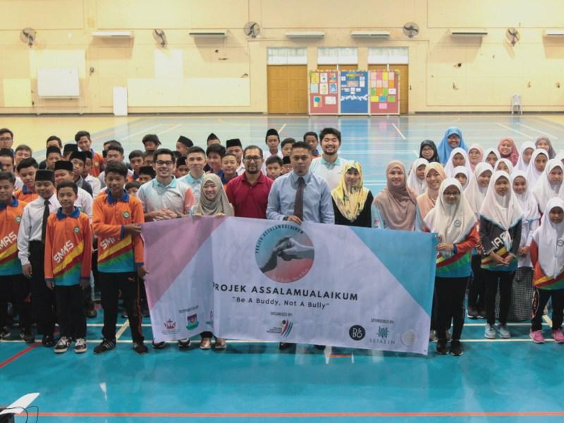 'Projek Asalaamualaikum' will raise awareness and combat school bullying in Brunei. Photo: Courtesy of Projek Assalamualaikum