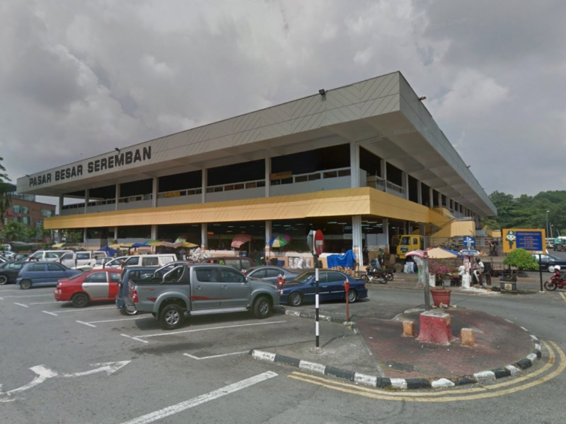 The market at Pasar Besar Seremban, 70km south of Kuala Lumpur. Photo: Google Map