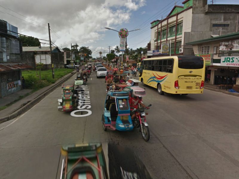 Victorias City in Negros Occidental, Philippines. Photo: Google Maps