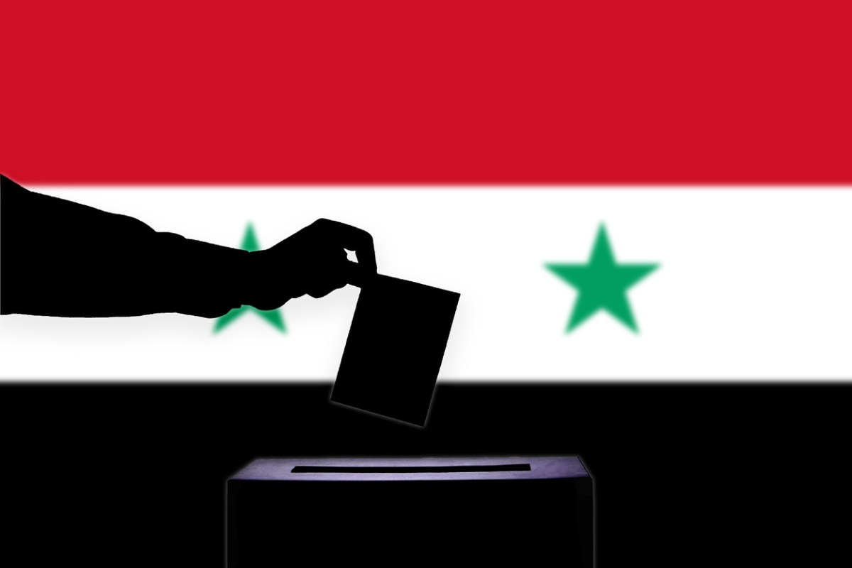 Syrians in government-controlled areas voted on Sunday. Image: iStock