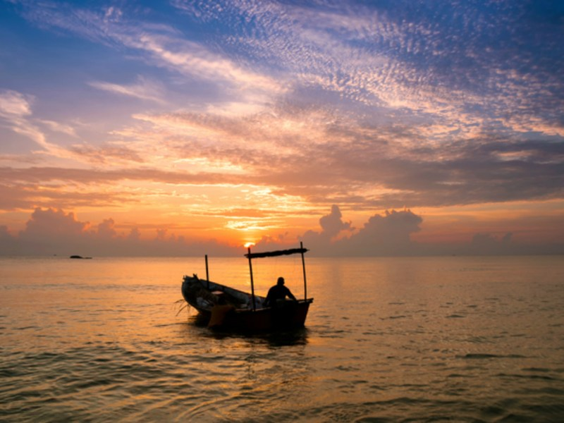 Kuala Terrenganu is a popular spot for fishing. Photo: iStock.