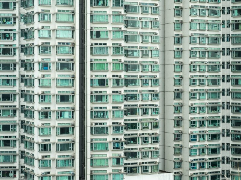 High-rise condos in Hong Kong. Photo: iStock