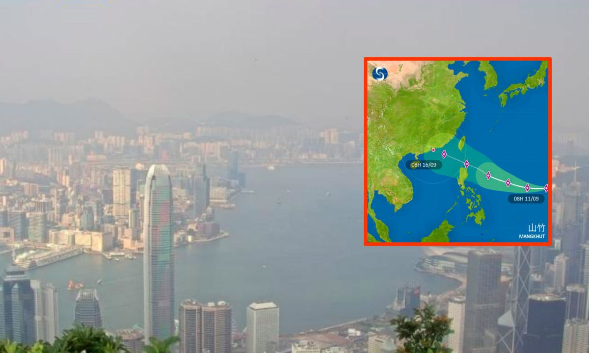 Bad weather is expected in Hong Kong on Tuesday and on the weekend. Photo: The Observatory