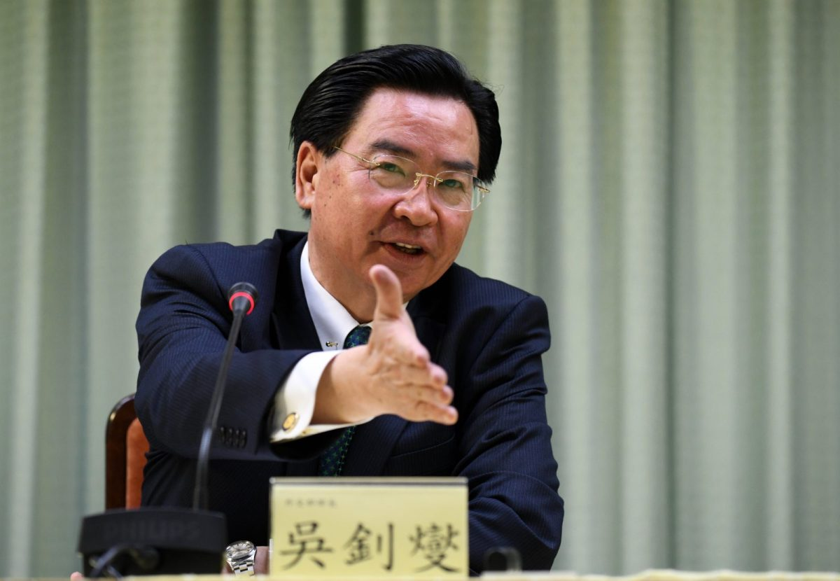 Taiwan Foreign Minister Joseph Wu has said  that relations with the 17 states that still have formal ties with Taipei were relatively stable, although less confidence is expressed elsewhere. Photo: AFP