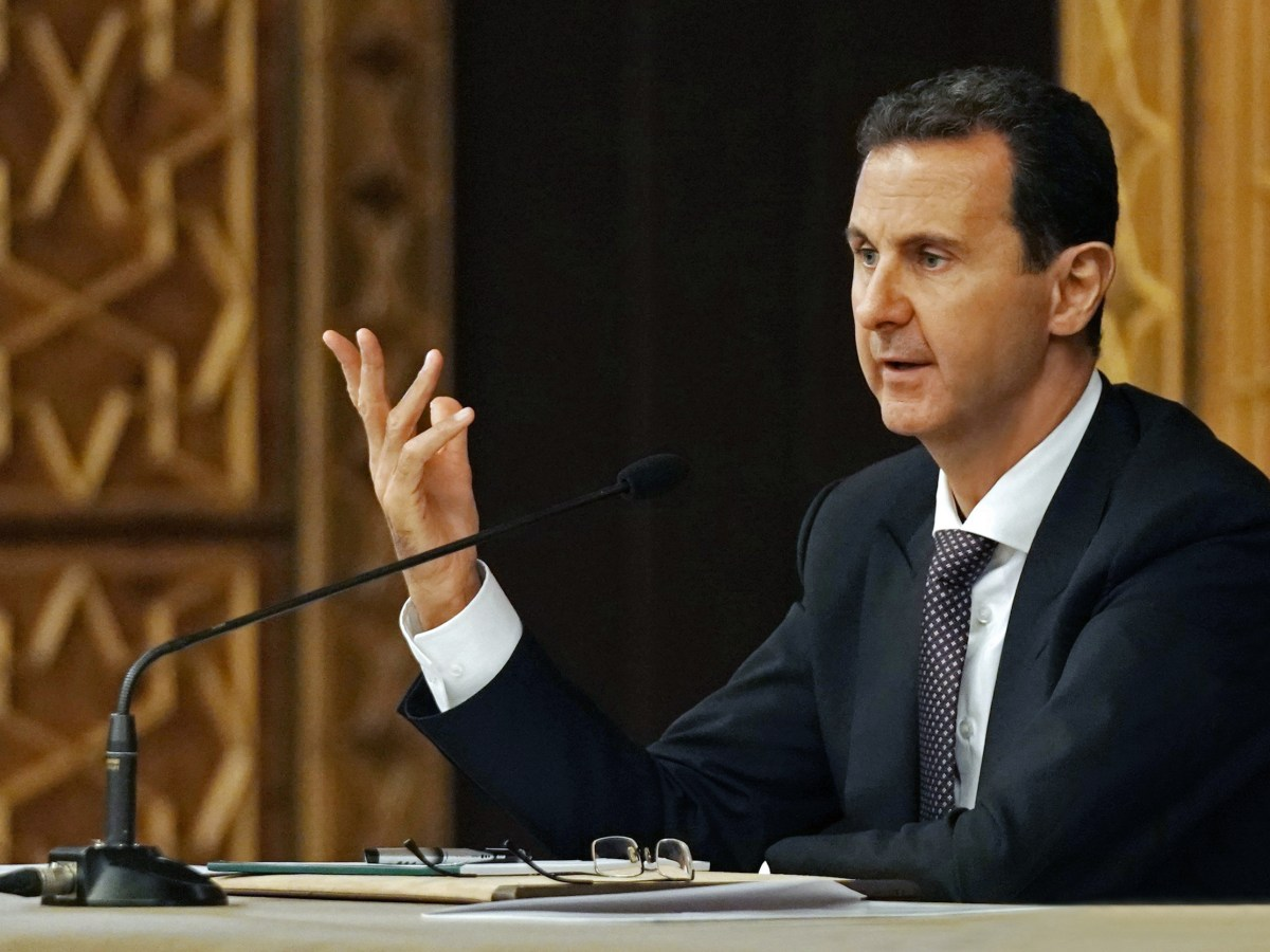 الرئيس السوري بشار الأسد الصورة: وكالة سانا أ ف ب