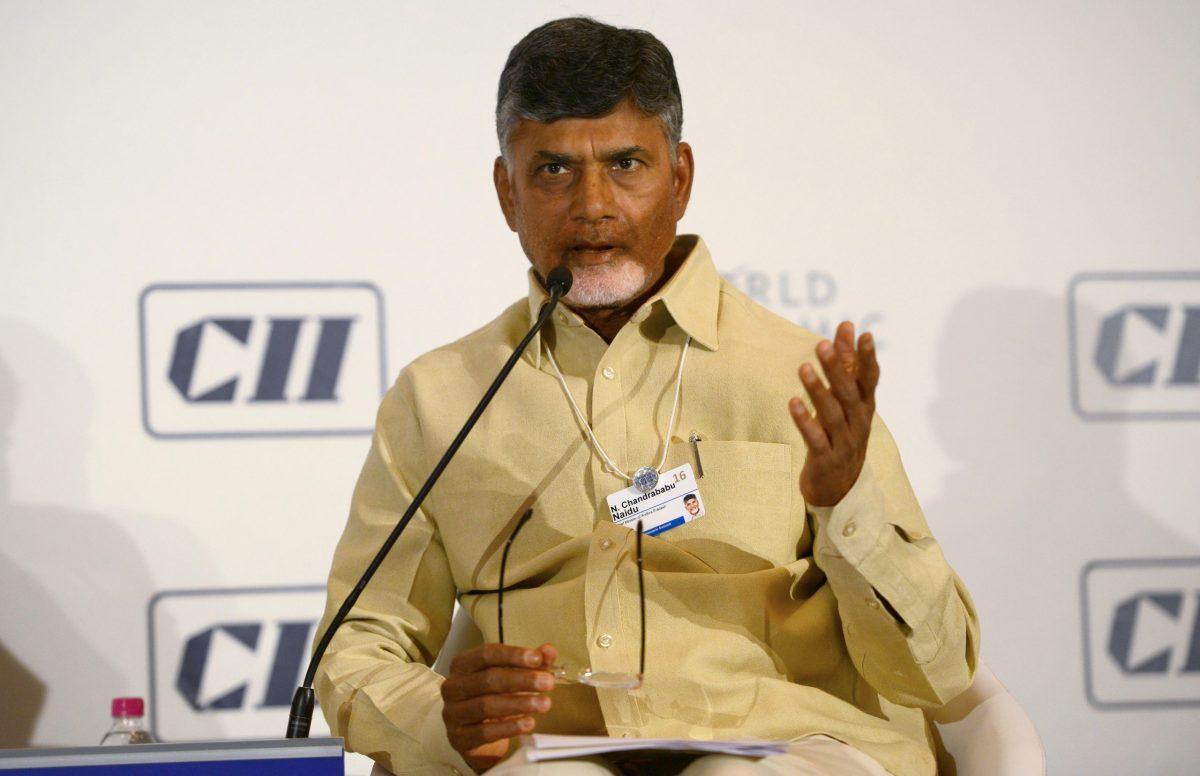 Chief Minister of Andhra Pradesh, N. Chandrababu Naidu. Photo: AFP