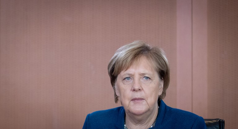 German Chancellor Angela Merkel. Photo: AFP