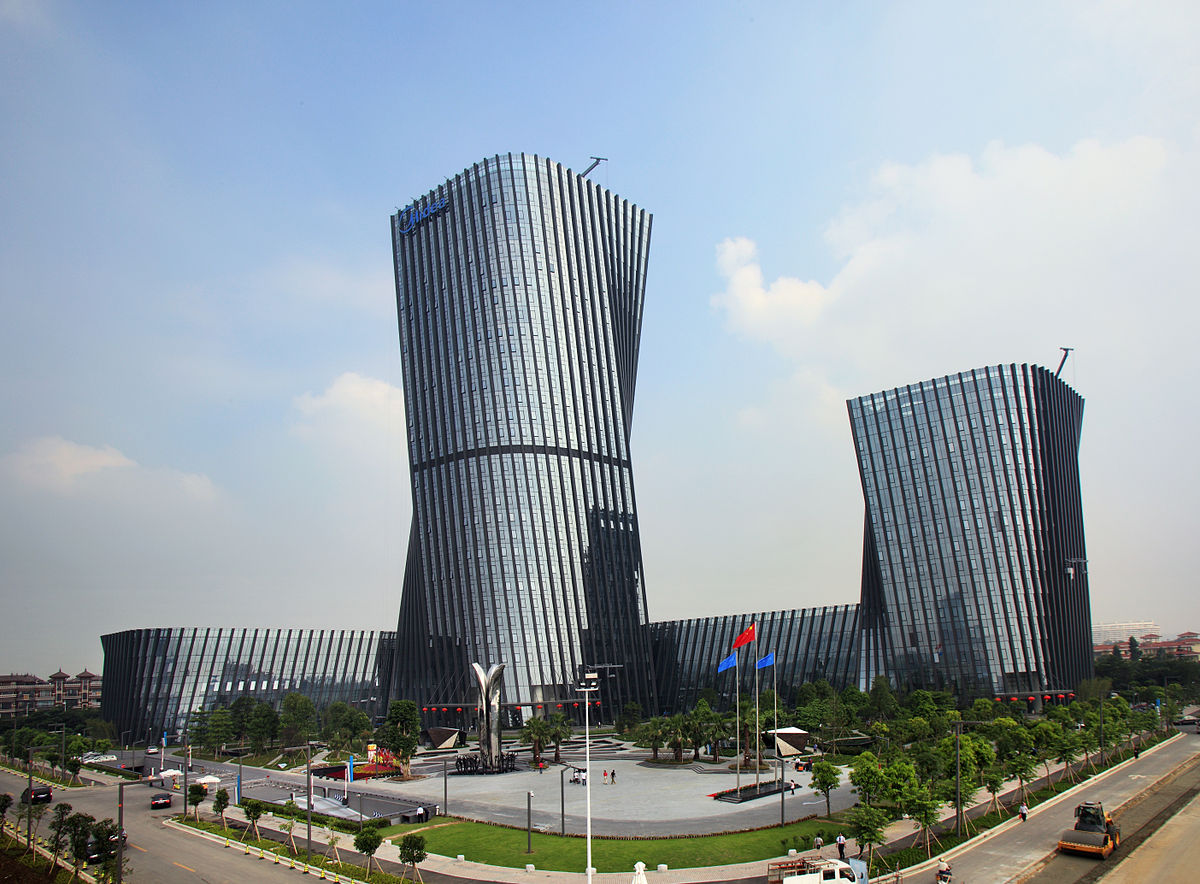 The headquarter of Midea Group in Foshan city, Guangdong province. Photo: Wikimedia Commons