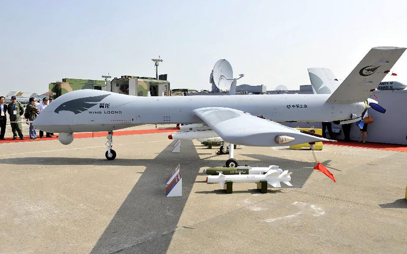 A Wing Loong II drone. Photo: AVIC