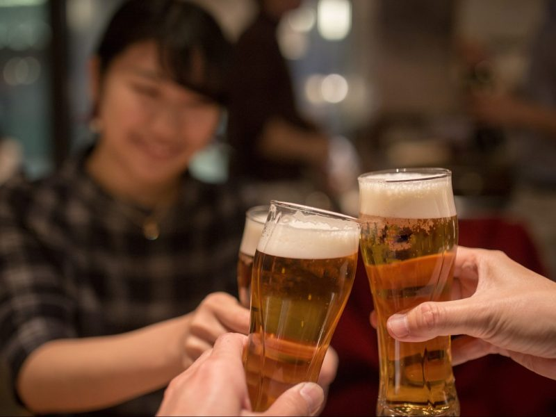New World Health Organization research shows rising alcohol consumption in much of Asia. Photo: iStock/Getty Images