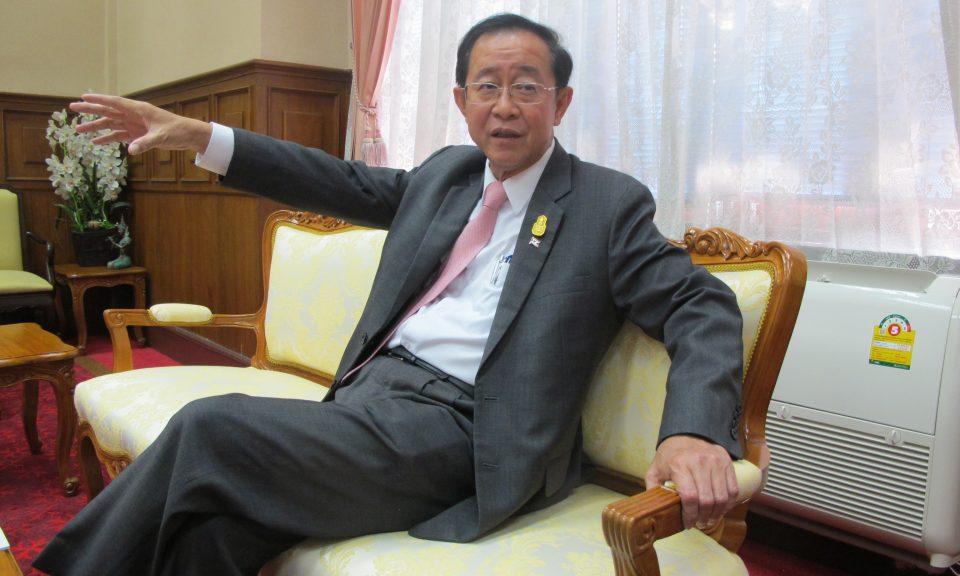 泰國交通部長Arkhom Termpittayapaisith。相片:Peter Janssen