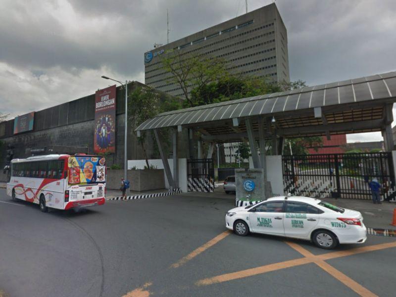 Bangko Sentral ng Pilipinas in Manila, the Philippines. Photo: Google Maps