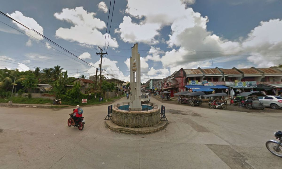 Cuartero, Capiz, in Western Visayas in the Philippines. Photo: Google Maps
